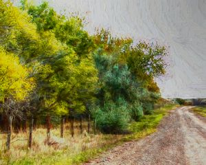 Montana Fall Rural Scenic