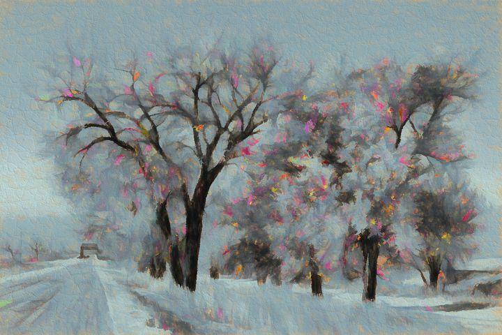 Fall Into Winter - Double Moon Art