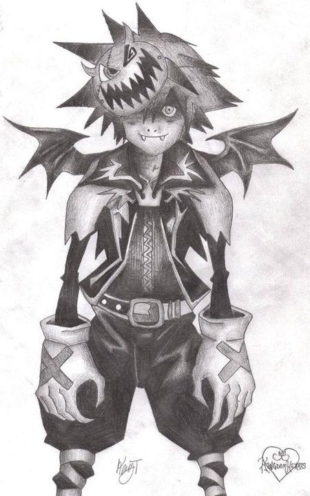 Nightmare Sora - Art by Silas