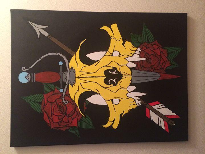Rose & Dagger - JVillamorDesign