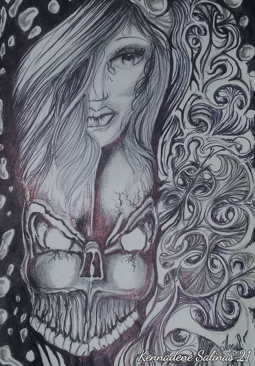 Beautiful lost soul - Tony Salinas works of art
