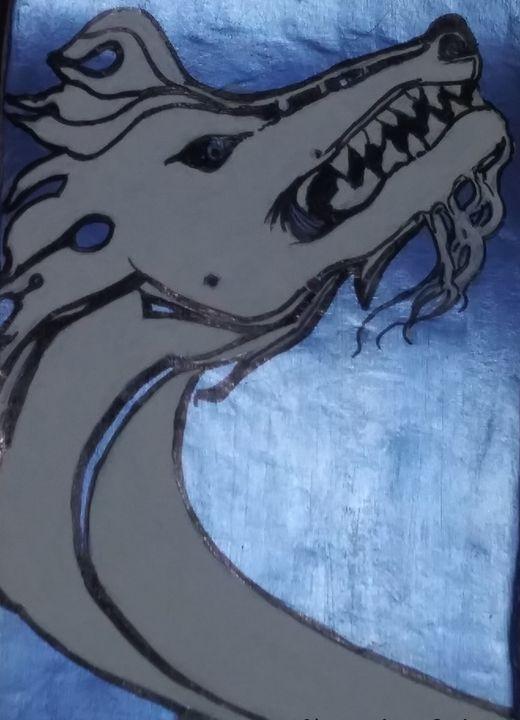 Snow dragon - Tony Salinas works of art