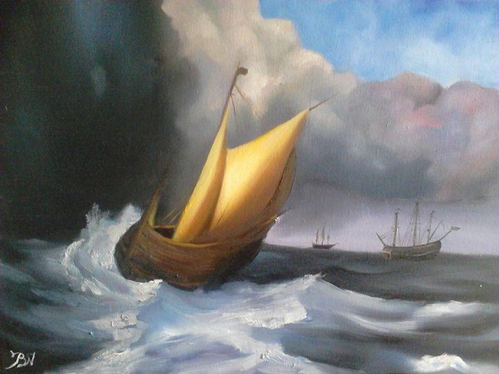 The Sea Storm - Vpatiniotis