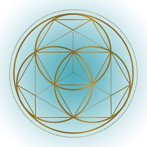Sacred Geometry 3 (Teal)