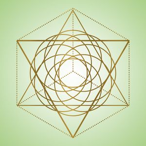 Sacred Geometry 6 - Green