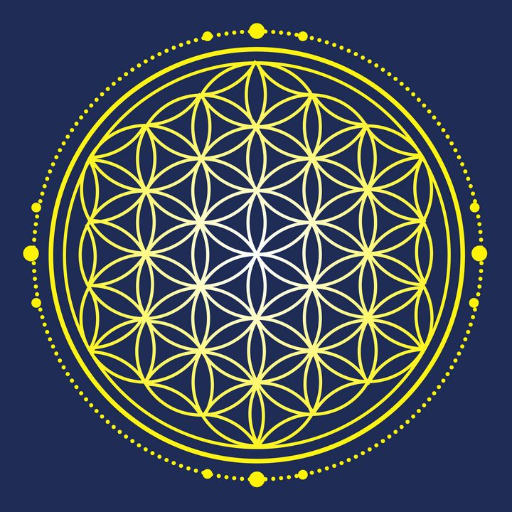 Sacred Geometry - Flower of Life - Shannon MacFarlane Photography