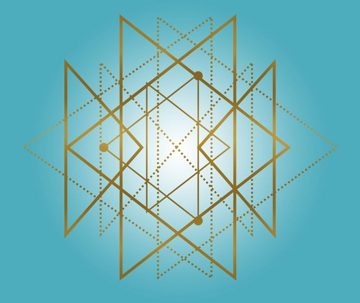 Sacred Geometry - Golden Triangles - Shannon MacFarlane Photography