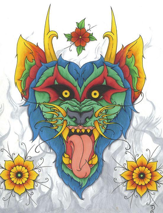 Ol' Smokey - Parlour Illustration