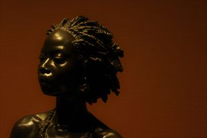 Bust Of An African Woman