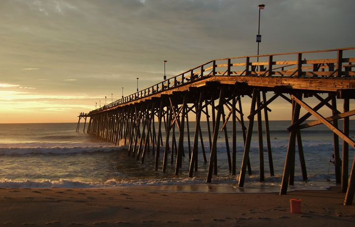 Sunrise at the Fishing Pier - Ryan Lane Collection