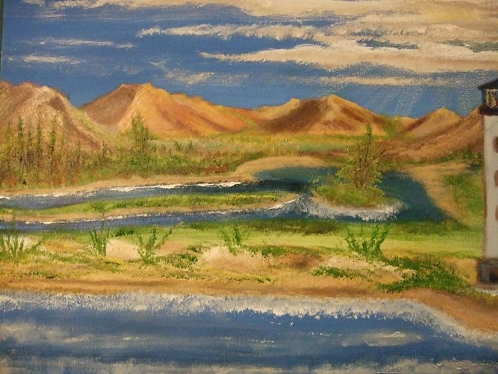 Valley off the Coast - Ryan Lane Collection