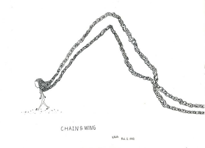 Chains and Wings - Una Yan
