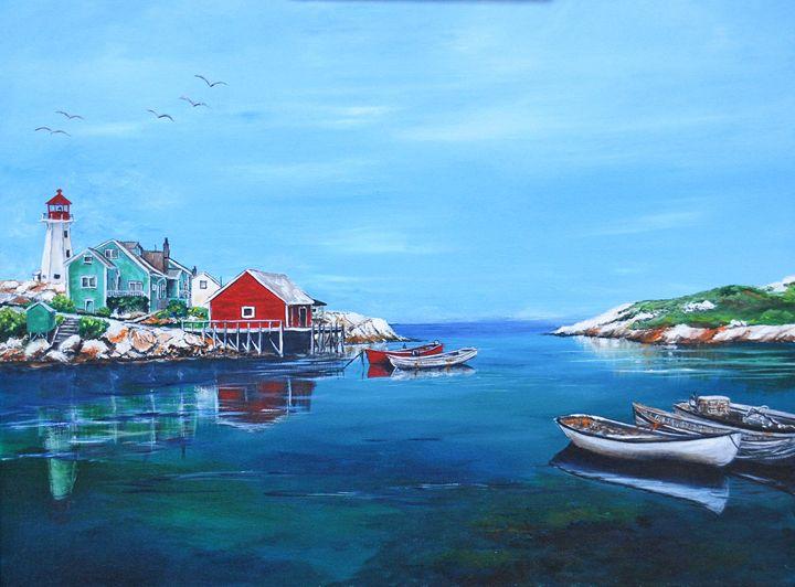 PEGGY'S COVE, NOVA SCOTIA - Ruth Bowen Professional Artist