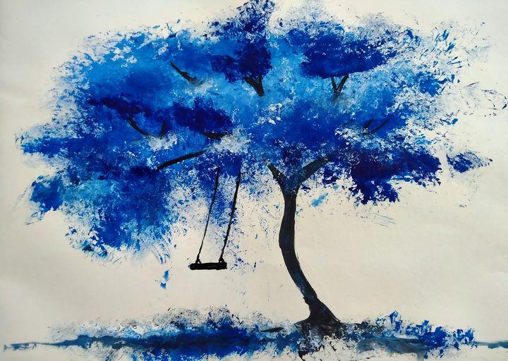 Blue tree - prynkaB