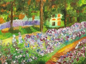 Reproduction of Monet's project