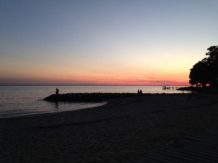 Sunset in Maryland - Lizzie Xu