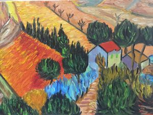 Reproduction of Van Gogh's Project