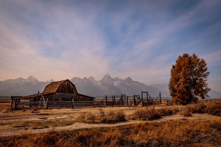 Tetons Barn - James Netz Photography