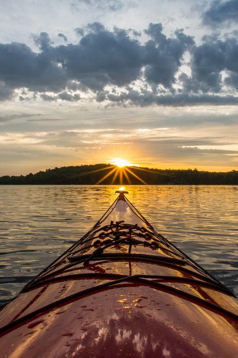 Sunrise Kayak - James Netz Photography