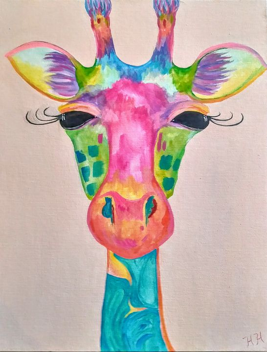 Boho Giraffe - LifesongArts
