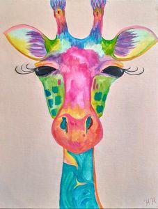 Boho Giraffe