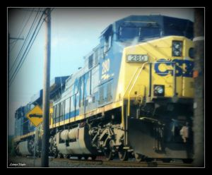 CSX Train Engines