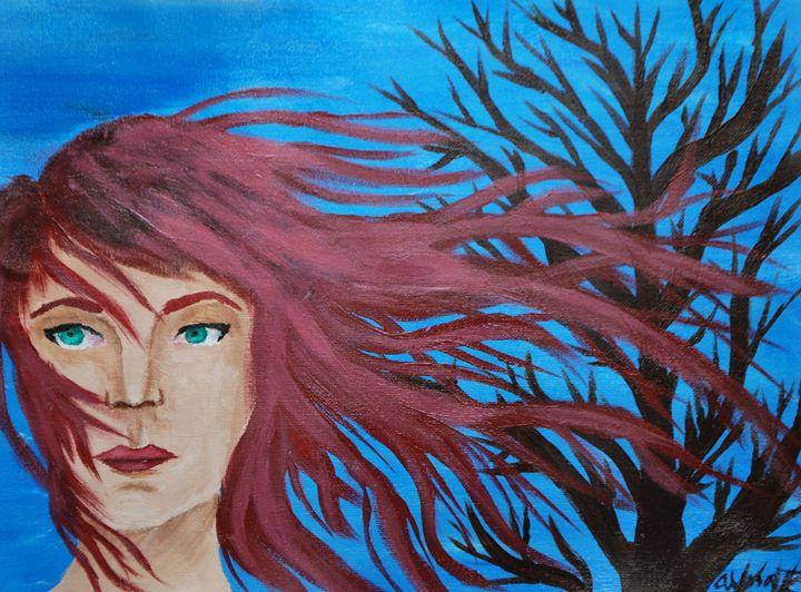 Red in the Wind - Alyssa Evans