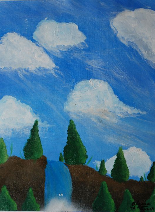 Trees to the falls - Alyssa Evans