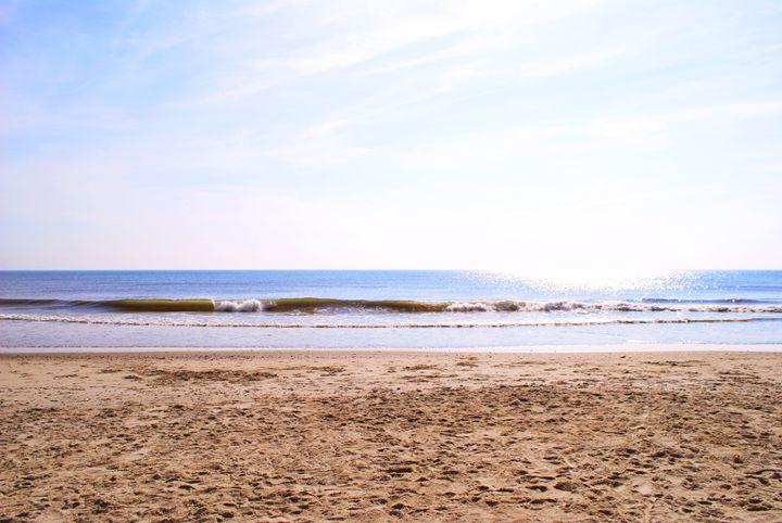 Crashing the beach - Alyssa Evans
