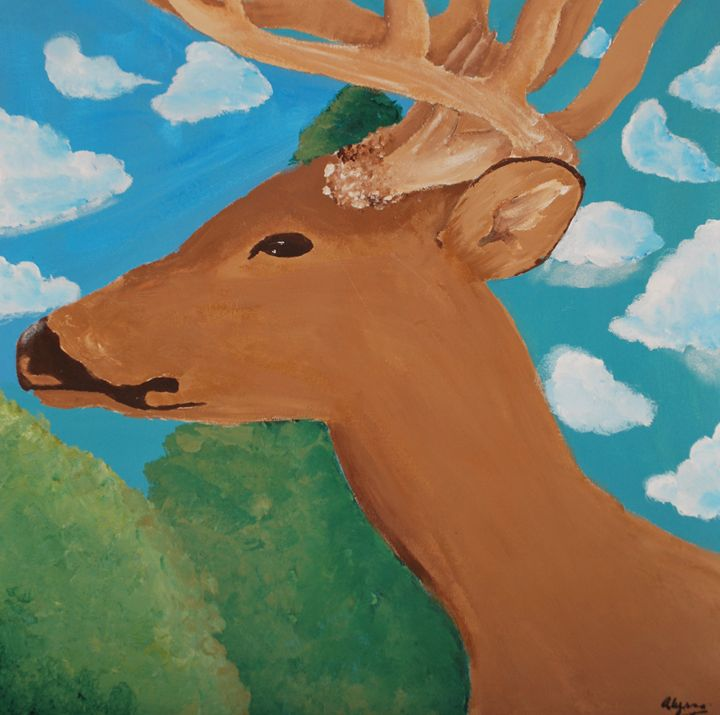 Buck and a bright day - Alyssa Evans