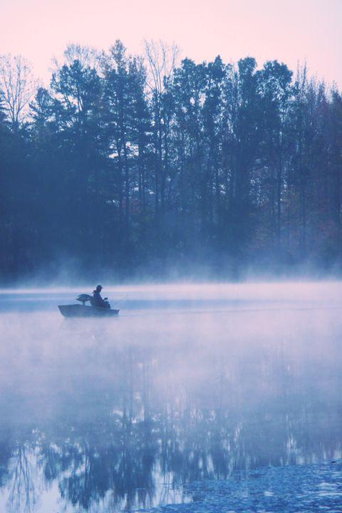 Lonely Fisherman - Alyssa Evans