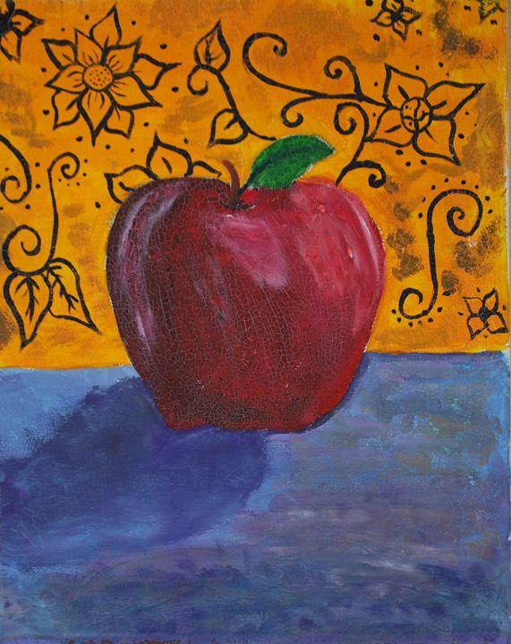 Apple stand - Alyssa Evans