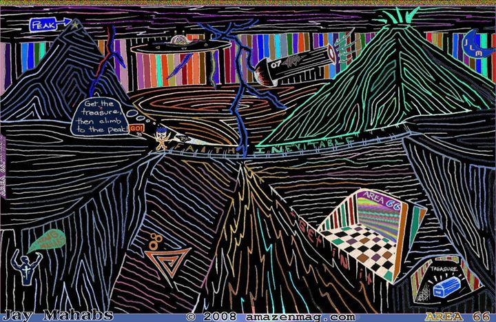 Area 66 STRANGE MazE - AMAZENMAG MAZE PUZZLES