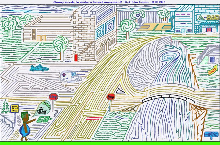 Lost In City OLD - AMAZENMAG MAZE PUZZLES