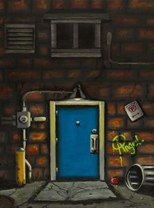Back Alley Door