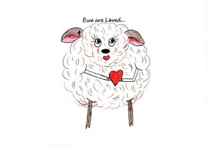 """Ewe are Loved..."