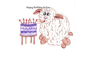 """Happy Birthday to Ewe"""