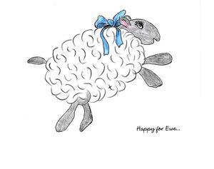 """Happy for Ewe"""