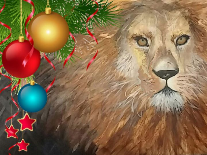 """Majesty at Christmas"" - Sandi's Artistic Impressions"