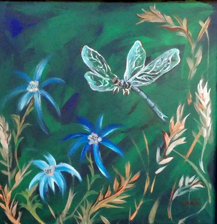 Dragonfly Garden - Sandi's Artistic Impressions