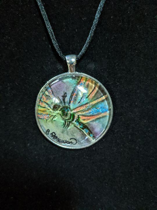 Gossamer Garden...dragonfly - Sandi's Artistic Impressions