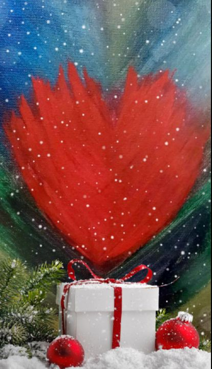 """Heart on Fire"" - Sandi's Artistic Impressions"