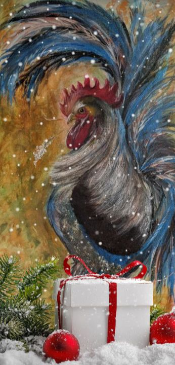 """Going Courtin' at Christmas"" - Sandi's Artistic Impressions"