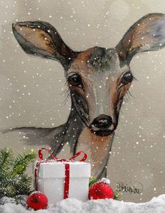 """""""Doe at Christmas"""""""