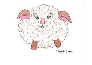 """""""Thank Ewe"""""""