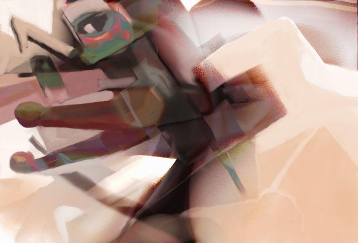 Abstracted Figure ! - Fine-Art Original Prints