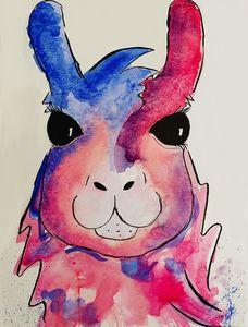 Pink Llama Splash
