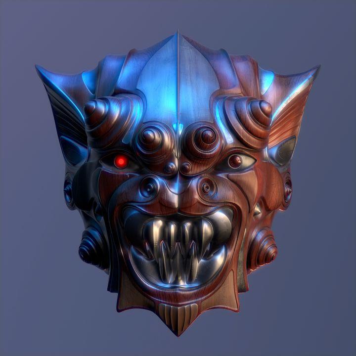 Demon Mask 1 - Yomi