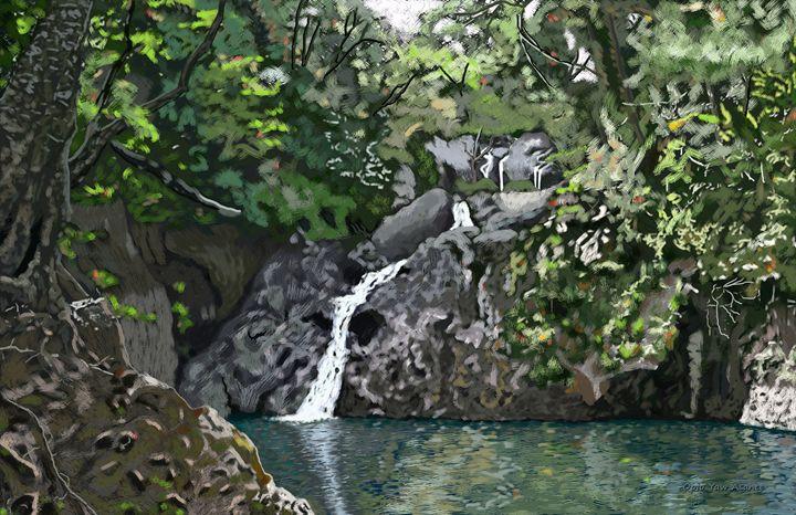 Argyle Waterfalls - Opio Yaw Asante