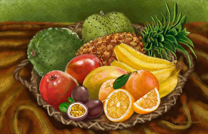 Caribbean Fruits 2 - Opio Yaw Asante